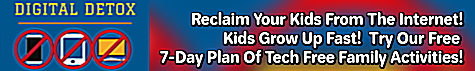 Rescue Your Kids From The Internet For 7 Days of Offline Fun
